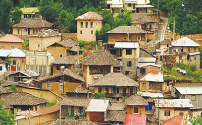 """MALKHAST"" is one of the best climate villages around SARI city"