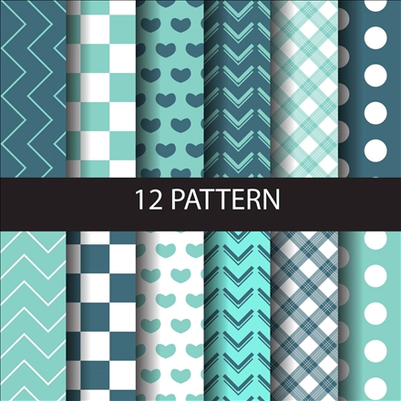 seamless pattern set