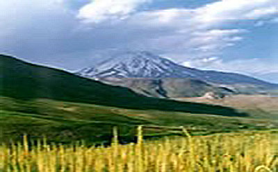 Damavand, the mythological source of Iran