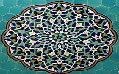 Traditional tile art