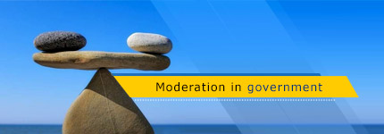 Moderation in government
